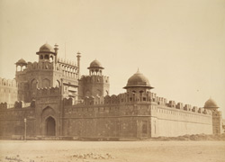 Lahore Gate of Delhi Palace, Red Fort.